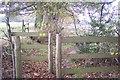 TQ4959 : Footpath junction neare Broomfield Wood by David Anstiss