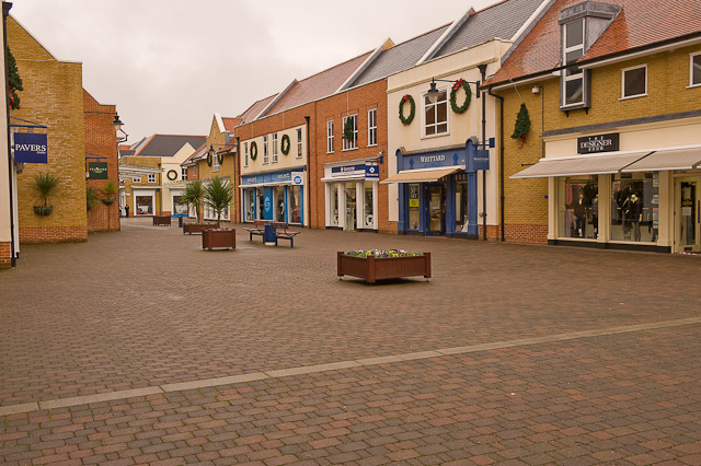Whiteley Outlet Shopping Centre