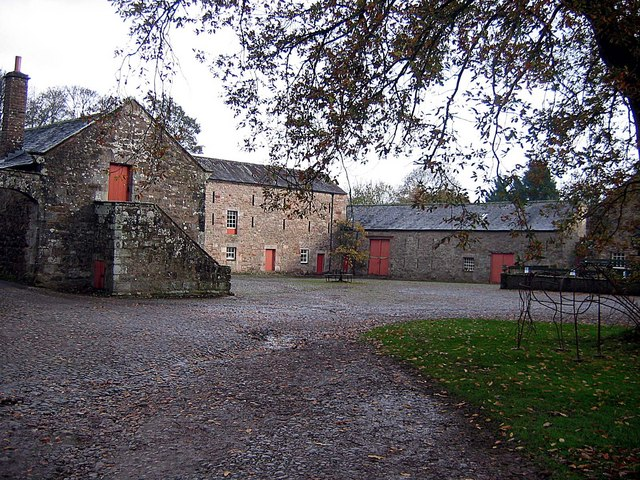 Dalemain: 16th century barn © Roger Smith :: Geograph ...