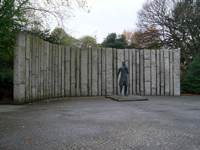 Wolfe Tone memorial, St. Stephen's Green