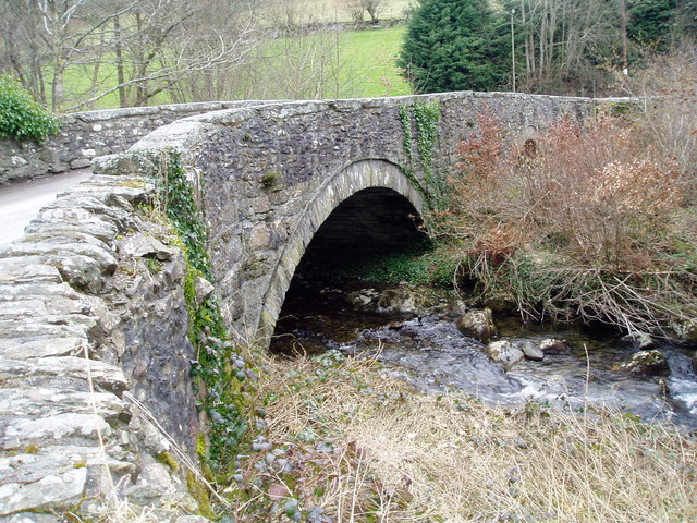 Bridge over the River Hirnant at Rhos-y-Gwaliau