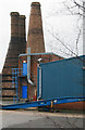 SJ8944 : Three kilns, James Kent, Fountain Street, Fenton by Chris Allen