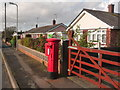 SY9793 : Upton: postbox № BH16 282, Beacon Park Road by Chris Downer