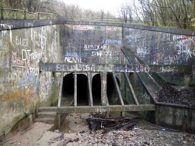Culvert Under The Horden To Blackhall C Andrew Curtis
