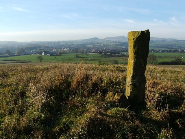 Standing stone near Toptowie Hill