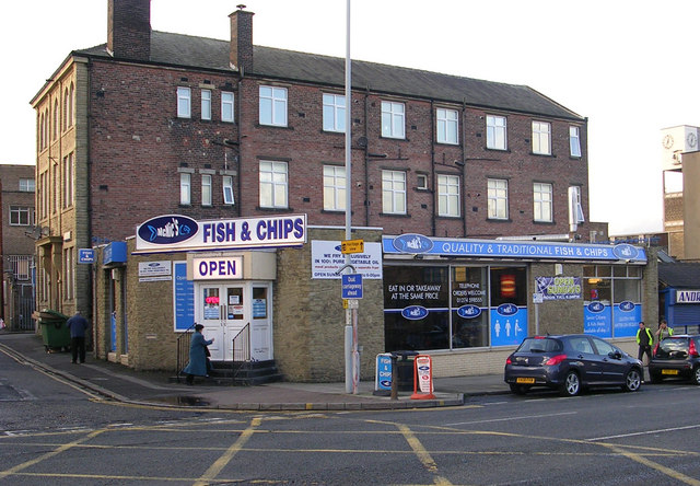 Mcnic 39 s fish chips otley road betty longbottom for Bettys fish and chips