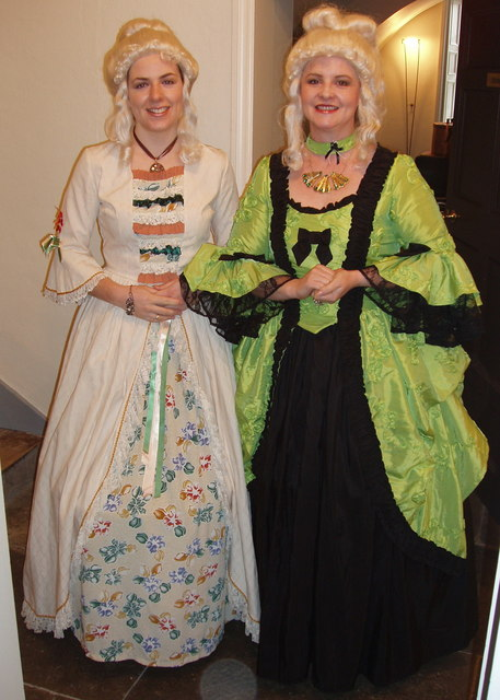 Guides In 18th Century Costume At The 169 David Hawgood
