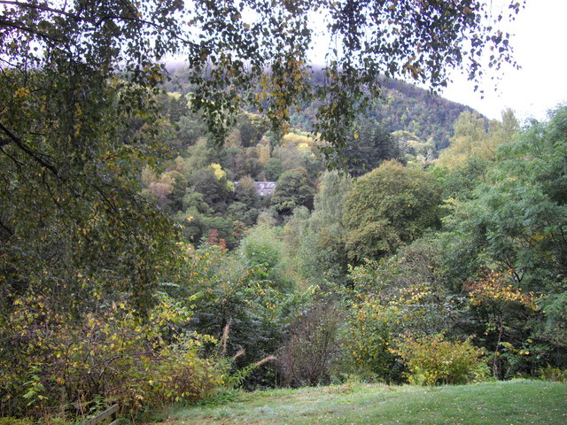View from Killiecrankie Visitor Centre
