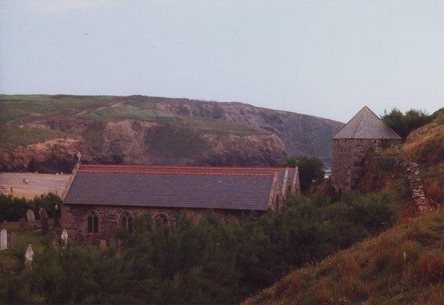 St Winwaloe's, Gunwalloe Cove, Cornwall