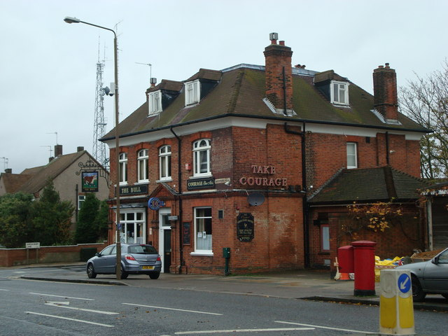 The Bull public house, Shooters Hill