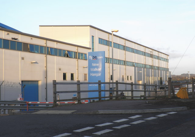New Flybe Walker hangar, Exeter Airport