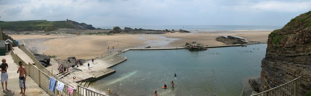 Bude  sea-water swimming pool