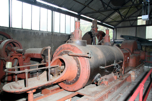 Uniflow steam engine, Leeds Industrial Museum