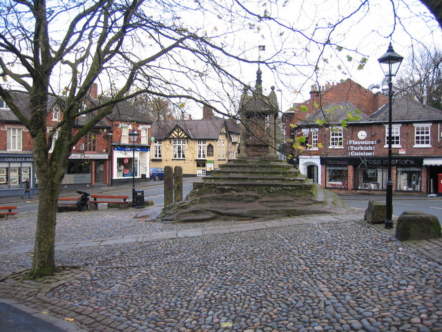 Lymm Cross and Stocks