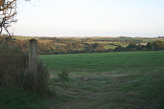 Farmland near Ladock