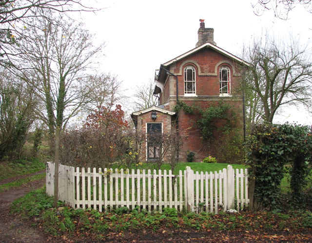The former railway station on Railway Hill in Starston