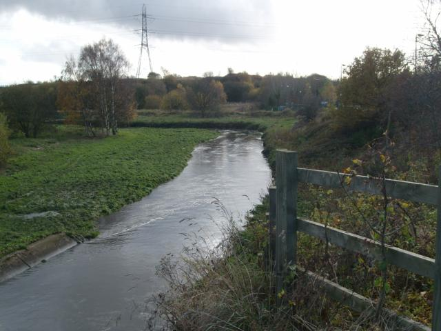 River Tame at Tame Bridge