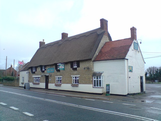 The White Hart Pub, Grafton Regis