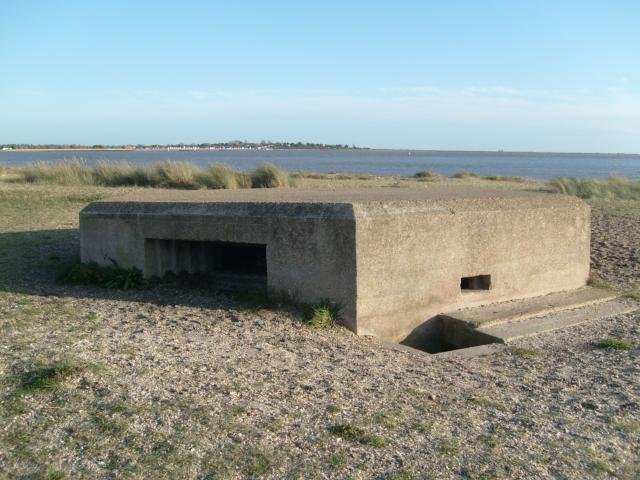 Pill Box at Mersea Stone
