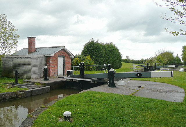 Adderley Lock No 1 south of Audlem, Shropshire