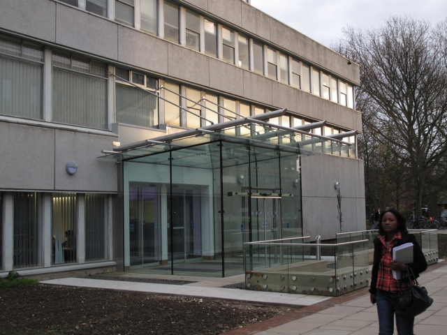 New Entrance to the Wilberforce Building