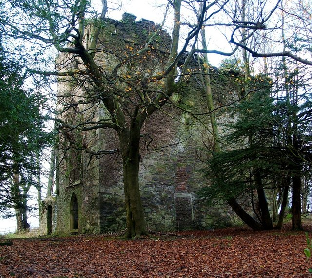 Kilmahew Castle