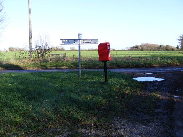 Pound Corner & Pound Corner Postbox