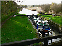 SU2763 : Lock on the Kennet and Avon canal, near Crofton by Brian Robert Marshall