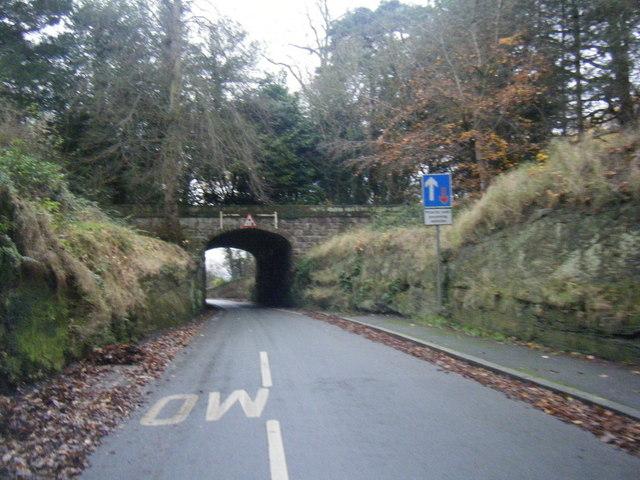 Rake Lane Bridge Under Chester Approach Colin Pyle