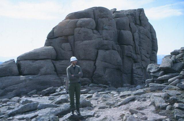 Summit of Beinn Mheadhoin