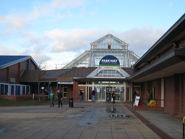 The Parkway Shopping Centre Coulby Philip Barker Geograph Britain And Ireland