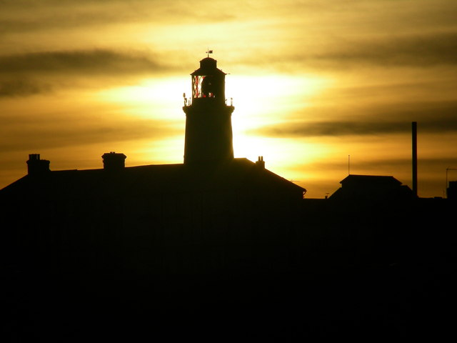 Southwold Lighthouse at dusk