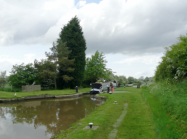 Shropshire Union Canal at Adderley Locks