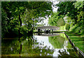 SJ6541 : Approaching the top lock, Audlem, Cheshire by Roger  Kidd