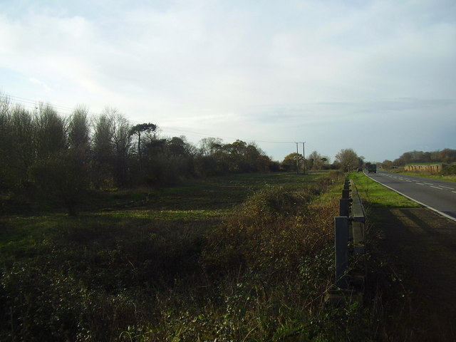 Site of Earsham Bomb siding