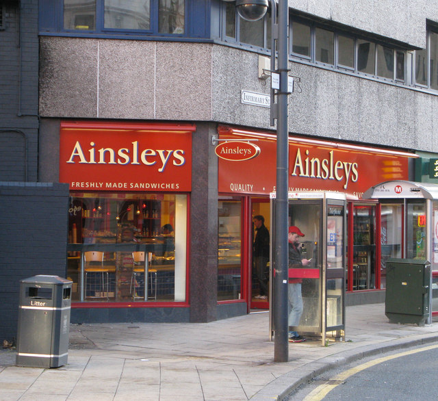 Ainsley's Bakers - Infirmary Street