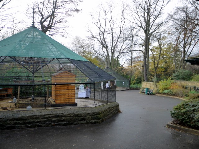 Aviaries, Saltwell Park