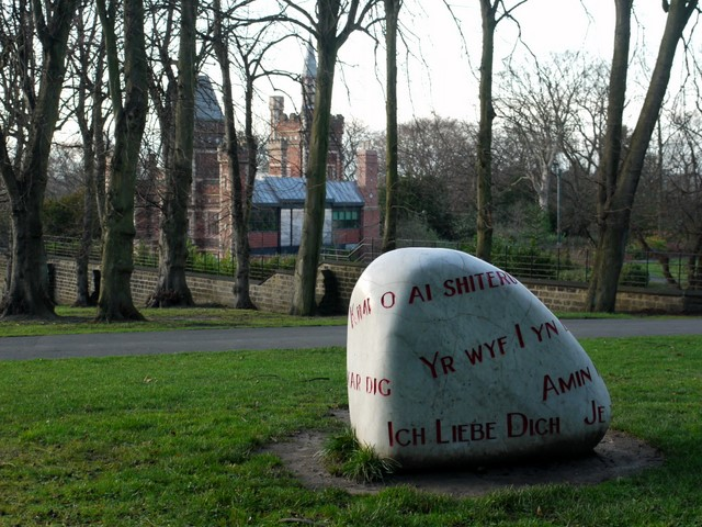 The Language Stone, Saltwell Park