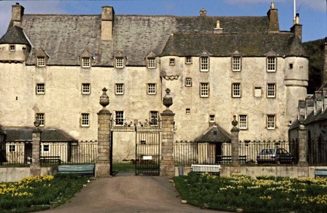 Front elevation of Traquair House,  Innerleithen
