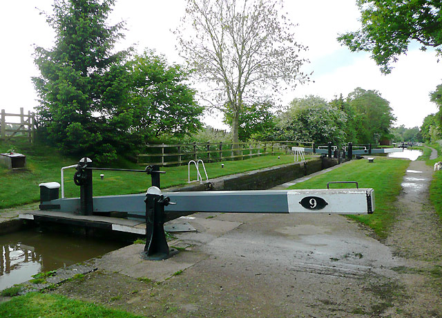 Audlem Locks No 9, Shropshire Union Canal, Cheshire