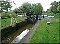SJ6542 : Audlem Locks No 9, Shropshire Union Canal, Cheshire by Roger  Kidd