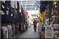 SX4754 : Man eating a pasty - Plymouth Market : Week 47