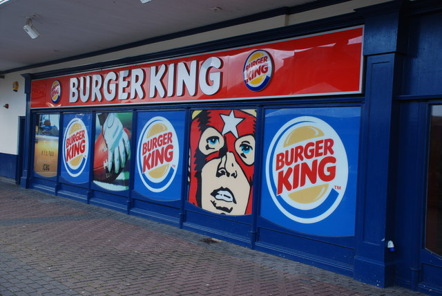 Burger King  Hafan y Môr