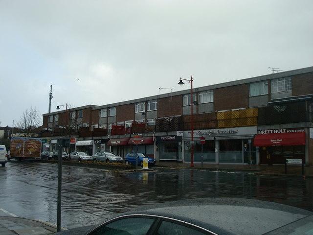 Shops, Stoneleigh