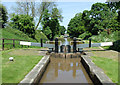 SJ6542 : Audlem Locks No 4, Shropshire Union Canal, Cheshire by Roger  Kidd