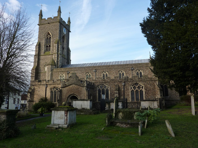 St Andrew's Church, Halstead