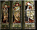 TL8130 : Stained glass window, St Andrew's Church : Week 48