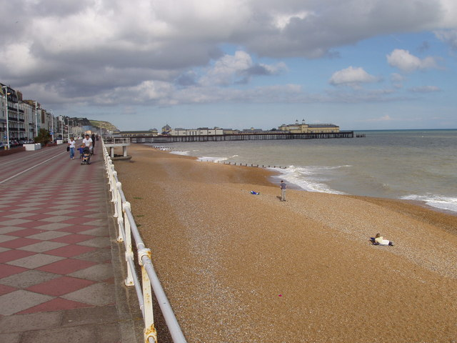 Hastings seafront and pier
