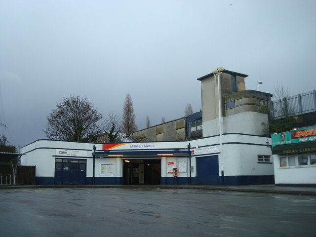Malden Manor Railway Station
