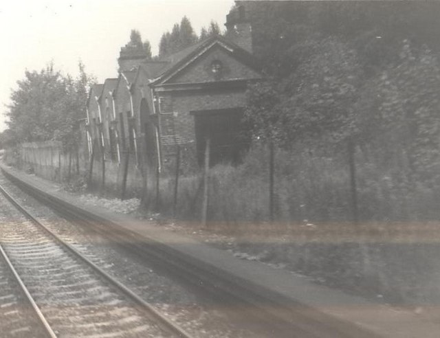Hazelwell Station, near Kings Heath, Birmingham